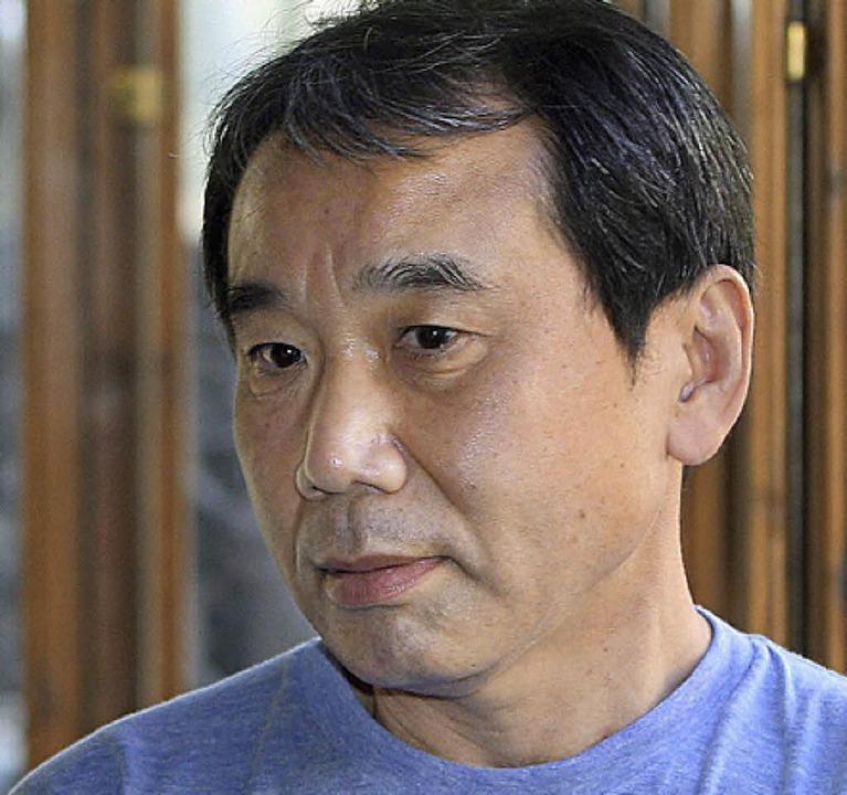Der Japaner: Haruki Murakami  | Foto: dpa
