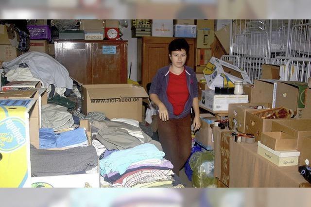 Für den Hilfstransport nach Rumänien fehlt Geld