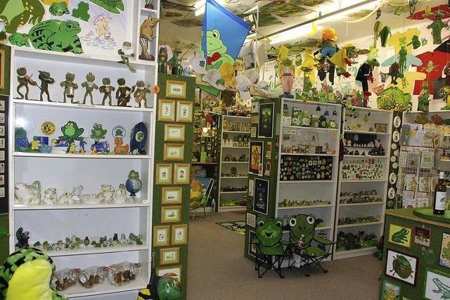 Froschmuseum zeigt über 6000 Exponate