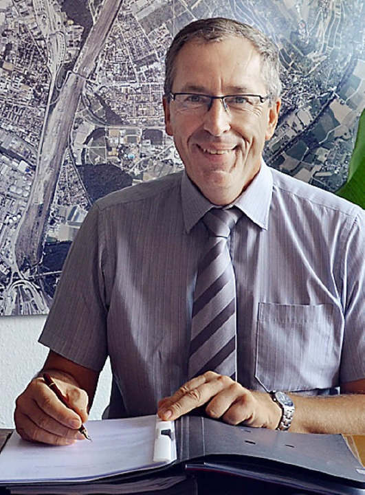Von heute an amtet  Christoph Huber als Bürgermeister.   | Foto: Fillisch
