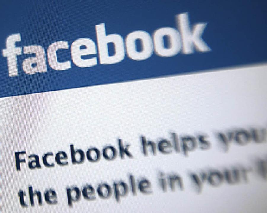 """Facebook helps you""... –  aber  nicht immer.   | Foto: AFP"