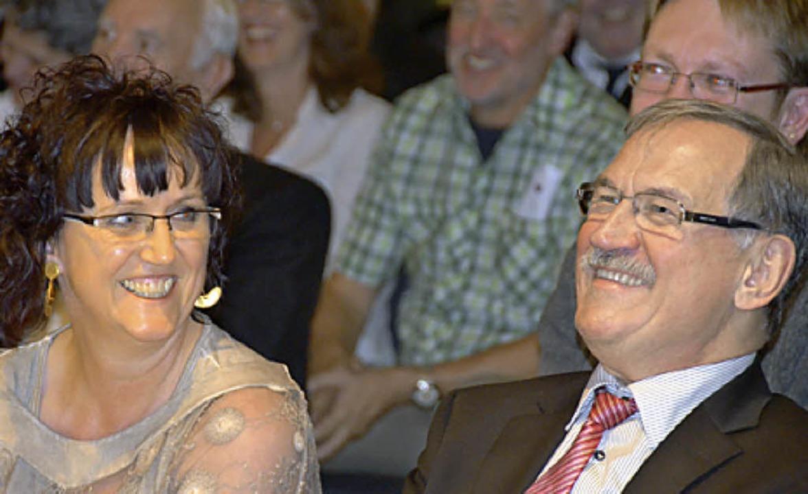 Genossen die Beiträge: Ulrich May und seine Frau Monika    Foto: Ulrich Senf