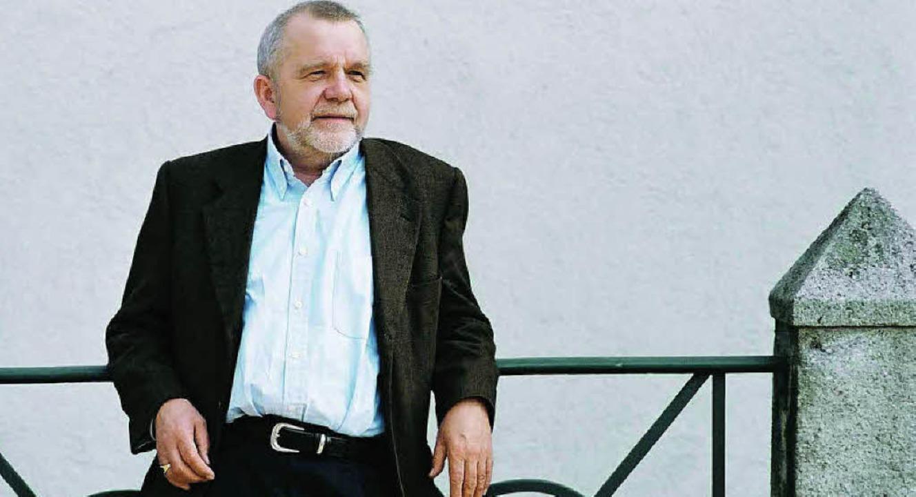 Ein Grenzgänger zwischen Philosophie und Literatur: Rüdiger Safranski  | Foto: pro