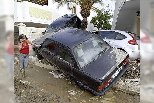 Bei Überschwemmungen sterben zehn Menschen