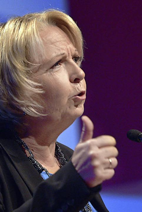 Madame 99 Prozent: SPD-Hoffnung Hannelore Kraft  | Foto: dapd