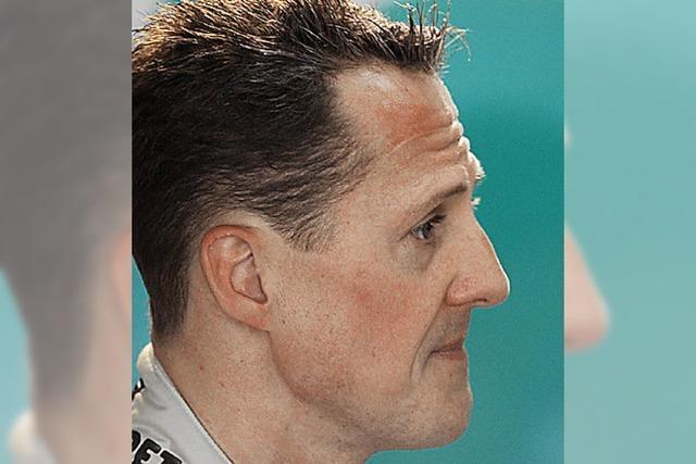 Alle Welt rätselt über Schumachers Zukunft
