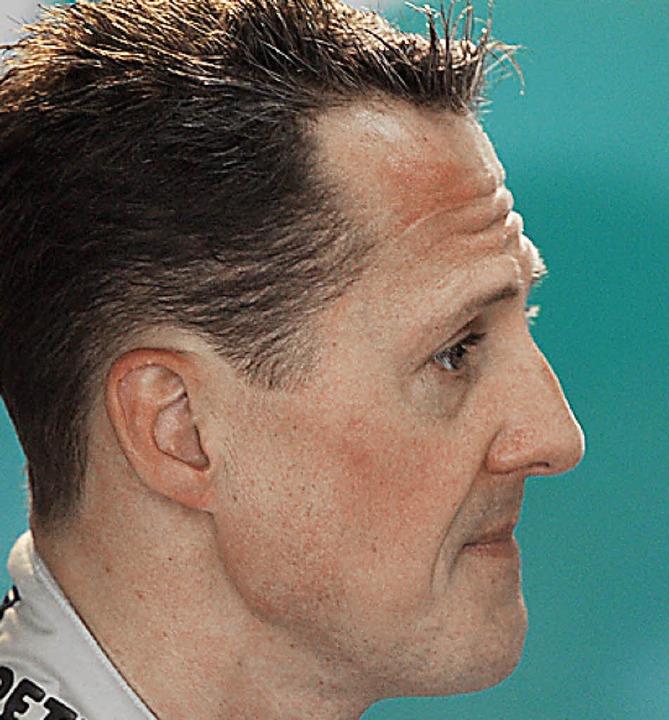 Michael Schumacher (links) geht, Lewis...s herrschen jetzt klare Verhältnisse.   | Foto: AFP