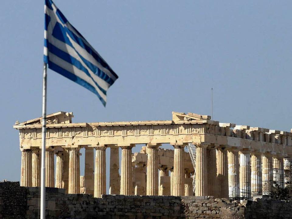 Griechenland diskutiert über einen Zei...litärputsch im Herbst 2011 spekuliert.  | Foto: dapd