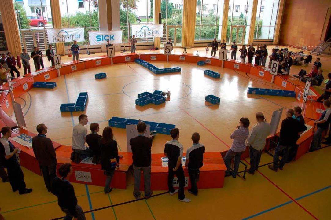3. Sick-Robot-Day im Jahre 2010 in Waldkirch.    Foto: Sylvia Timm
