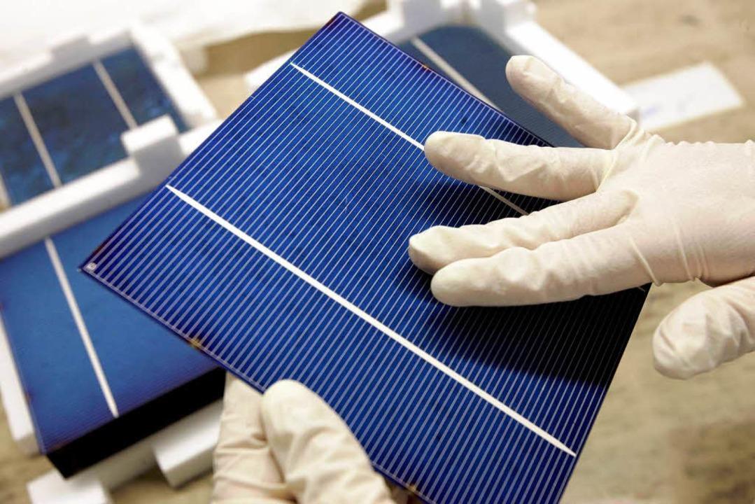 Rena liefert der Solarbranche zu.   | Foto: dapd