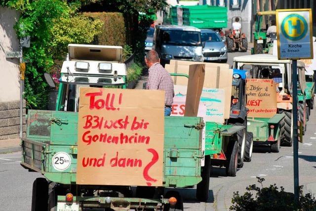 Vogtsburger wollen Bürgerinitiative für Weiterbau der B 31 West gründen