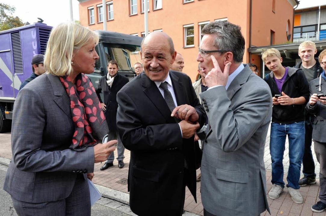 Ministerbesuch in Müllheim  | Foto: Volker Münch