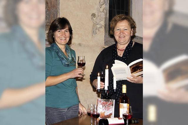 Weinverkostung der etwas anderen Art