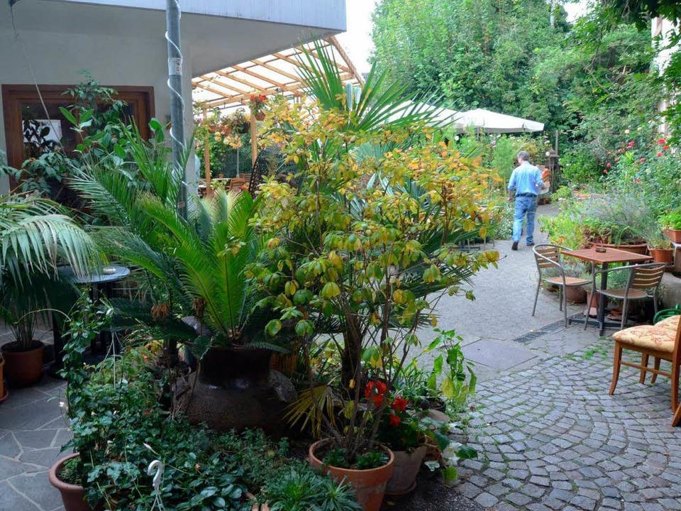 Eine grüne Oase ist der Garten des Chada Thai in Malterdingen.  | Foto: Marius Alexander