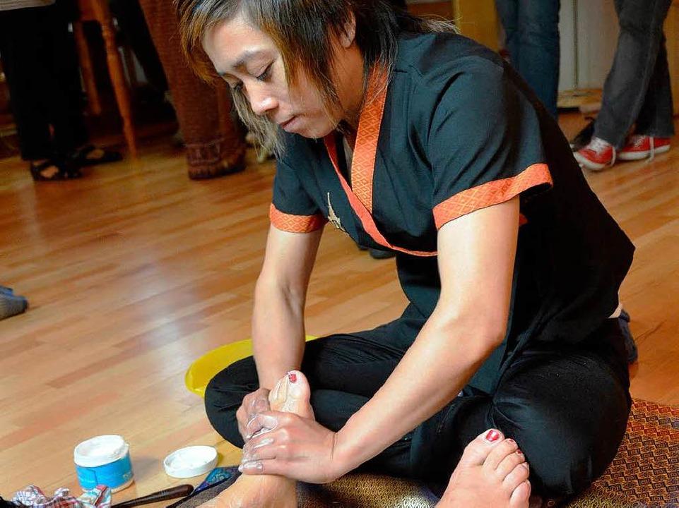 Massage ist eine der bekannten Spezialitäten, die Thailand hervorgebracht hat.  | Foto: Marius Alexander