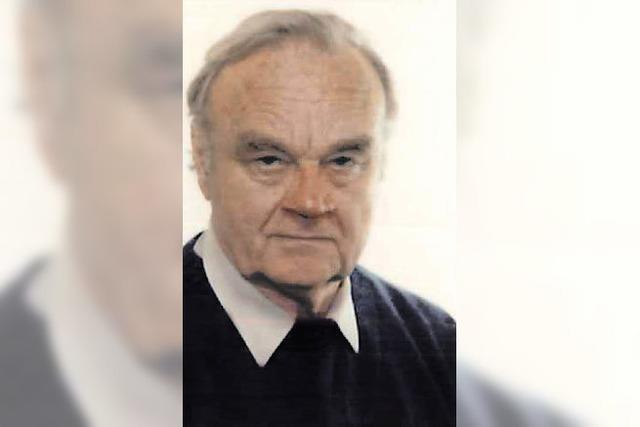 Ehrenbürger Alois Burget ist gestorben