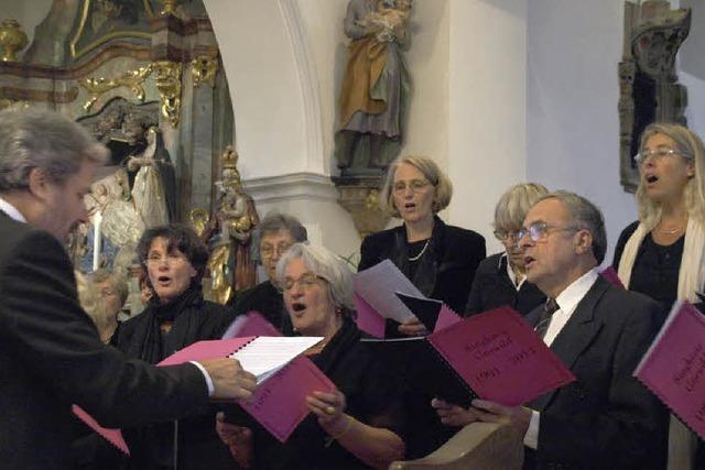 Singkreis Görwihl überzeugt in Hochsal