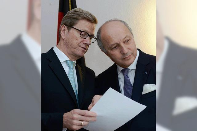 Deutsch-französisches Treffen in Müllheim: Hilfe für Syriens Opposition