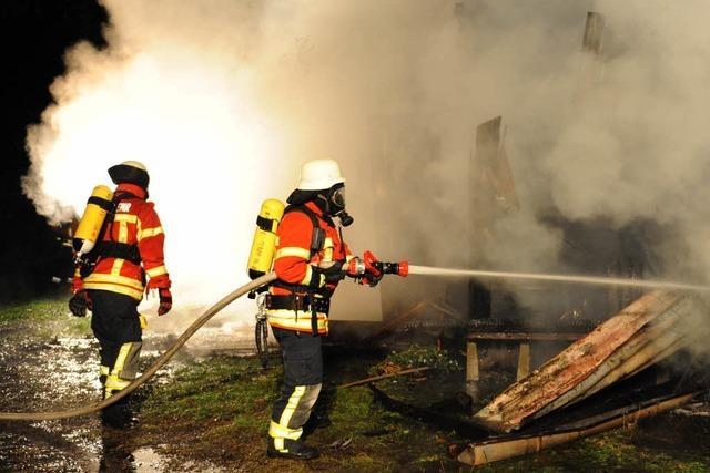 Brandserie in Breisach reißt nicht ab – Feuer in Lagerschuppen