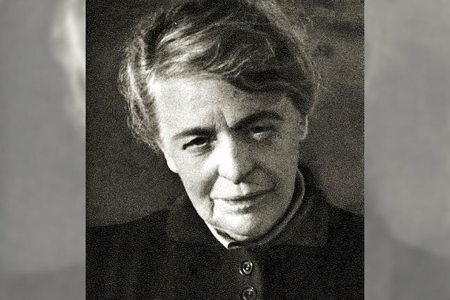 Erinnerung an die Autorin Maria Batzer