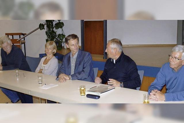 Im Gespräch mit Bürgermeister Wilke