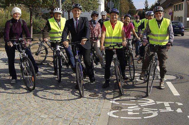 Fahrradfahren wird sicher