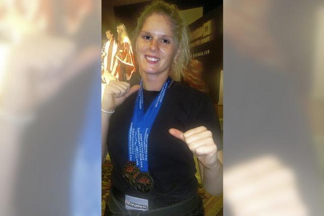 Sarah Mester holt den Weltmeistertitel