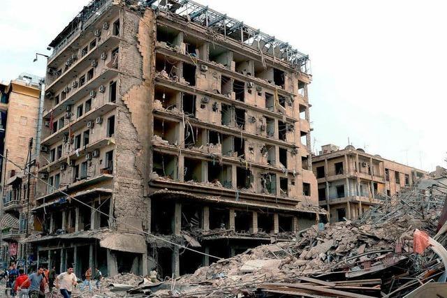 Dutzende Tote bei Attentaten in Aleppo