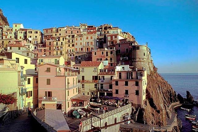 Küstendörfer der Cinque Terre sind durch Erdrutsche bedroht