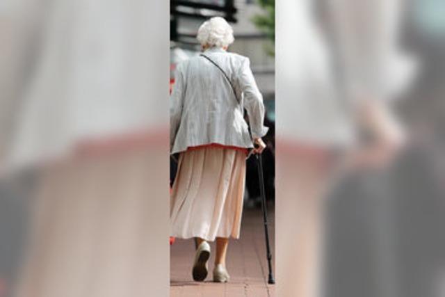 Jeder dritte Rentner lebt allein
