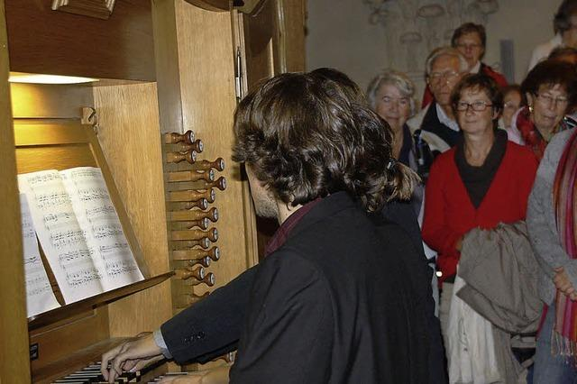 Orgelmusik, Wein und viel Natur