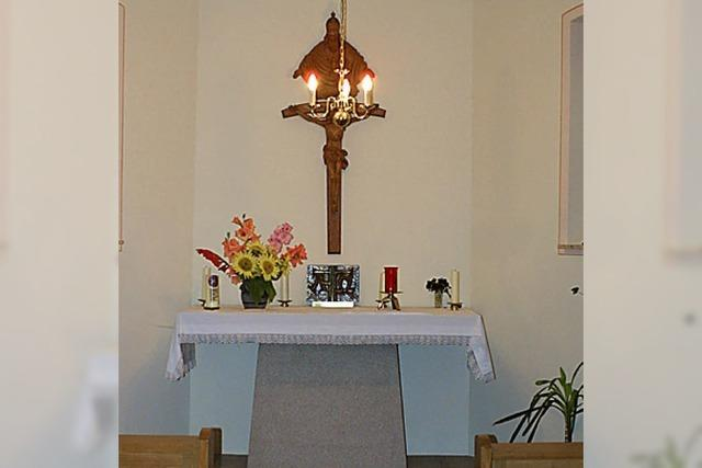 Pfarrfest für kleine Kapelle