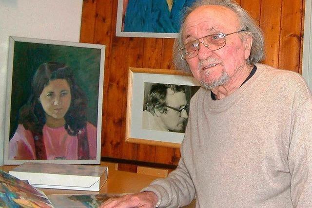 Trauer um den Maler Werner Dietz aus Bad Säckingen