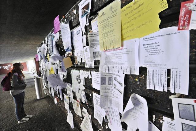 Viele Studierende suchen noch eine Bleibe - Notunterkunft offen