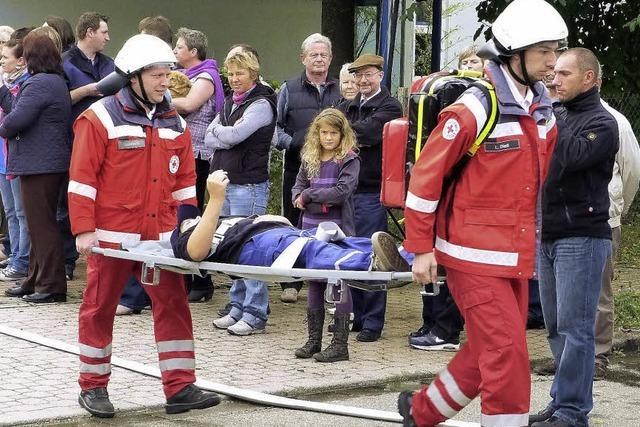 Kindergarten Arche wurde evakuiert