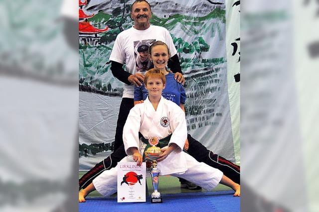 Werbung für den Karatesport
