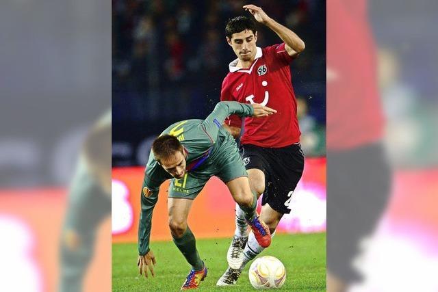 Hannover und Leverkusen gewinnen in der Europa League