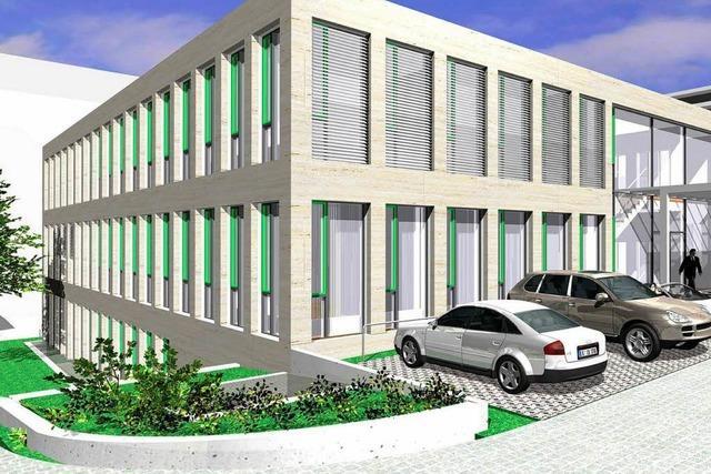 Am Kreiskrankenhaus Lörrach werden 15 Millionen investiert