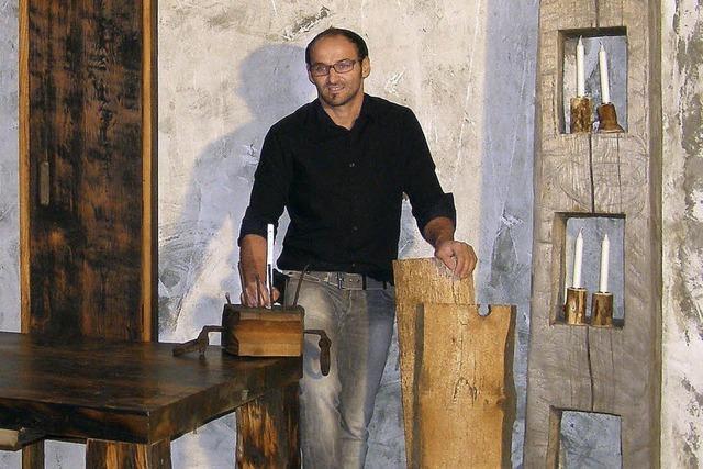 Inspiriert von altem Holz