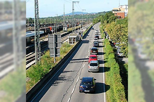 B 3 von Insel bis Bühlstraße gesperrt