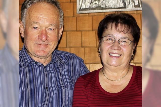 Ein äußerst engagiertes Paar
