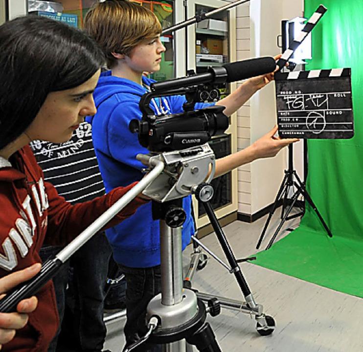 Filme vom FG gesucht: Die Schule plant eine Doku.   | Foto: eggstein
