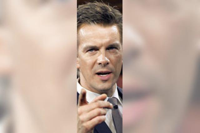 Markus Lanz tritt heute als Moderator von