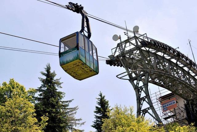 Schauinslandbahn startet Sanierungsoffensive