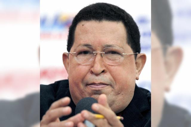 Hugo Chávez muss zittern