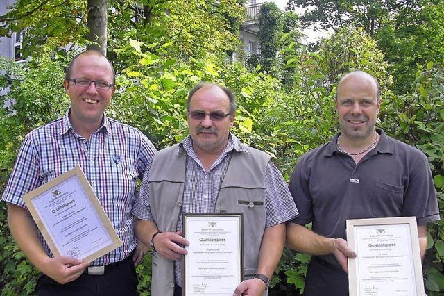 Qualitätspass für die Forstausbildung