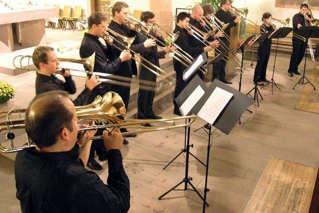 Musikspaß mit Posaunen