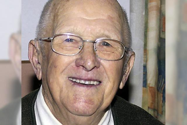 Karl Enderle ist 85 Jahre alt
