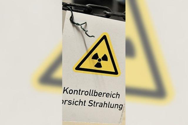 Geheimpapier mit Standorten für Atommüll