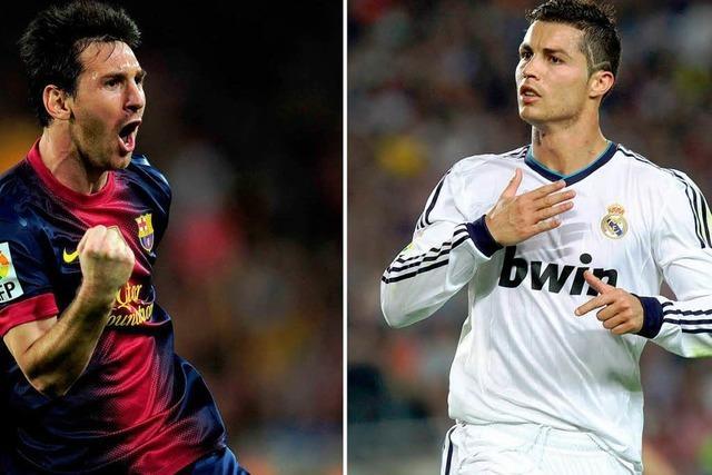 Barcelona gegen Madrid 2:2 – Ronaldo verletzt